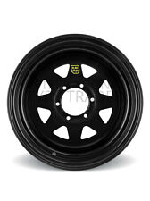 ROH Wheel 16X8 Trak 2 (Sunraysia) Black [For: Nissan Patrol 2000 Onwards]