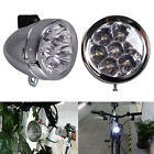 Vintage Retro Bicycle Bike 7 LED Front Light Headlight Fog Night Lamp w/ Bracket