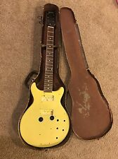 Vintage 1959 Gibson Les Paul Special - project guitar - with old alligator case
