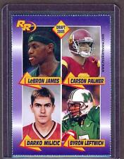 2003 LEBRON JAMES SMSV IRISH High School Draft PICK SP Quad Rookie RC RARE