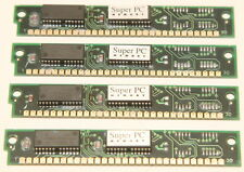 Texas Instruments 16MB RAM Kit. 4x 4MB 30-pin SIMM. Matched,Tested,Working,30pin