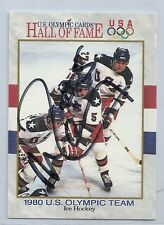 1991 Olympic HOF - MIKE RAMSEY - Hand Signed Autograph - 1980 USA Hockey