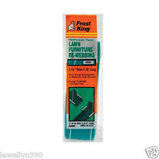 Frost King Lawn Chair Webbing GREEN Waterproof and Fade Resistant NEW!