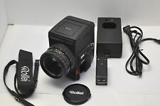 Rolleiflex 6002 Medium Format Professional Film Camera w/ 80mm F/2.8 Rolleigon