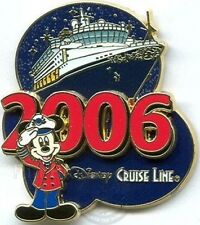 Disney Pin: DIsney Cruise Line DCL 2006 Collection - Captain Mickey