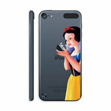 For iPod Touch 5th Gen - Hard Clear Back Protector Cover Skin Case Snow White