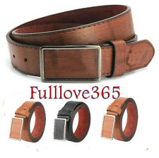 Luxury Leather Automatic Buckle Belt Casual Men's Waistband Waist Strap Belt AO