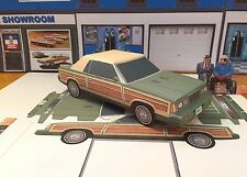 Papercraft EZU-Make-it PLANES TRAINS & AUTOMOBILES Chrysler LeBaron MOVIE CAR