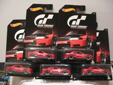 HOT WHEELS BASIC GRAN TURISMO SERIES NISSAN SKYLINE GT-R (R32)   (LOT OF 5)