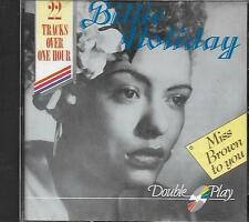 CD album: Compilation: Billie Holiday. Miss Brown to You. Double Play. Z