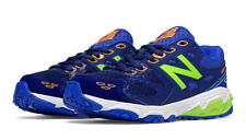 Boys New Balance Blue/Toxic Lightweight Lace Sneakers Boys Size 1 Wide