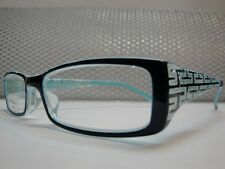 Men Women CONTEMPORARY STYLE BLUE  READING EYE GLASSES COOL FRAMES READERS +1.25