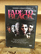 Fade to Black DVD Dennis Christopher Horror Slasher Out of Print RARE Anchor Bay
