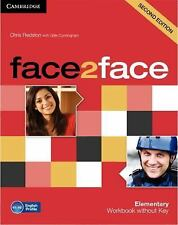 Face2face Elementary Workbook Without Key by Chris Redston (2012, Paperback)