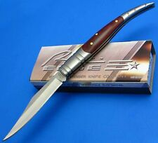 Rite Edge Spanish Toothpick Folding Pocket knife Jack Knife Clip Point Filework