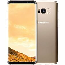"Samsung Galaxy S8 Dual Sim G950FD 4G 64GB 5.8"" Factory Unlocked Maple Gold"
