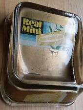 vintage Real Mint Baby Ruth Gum glass change tray Madisonville, KY store display
