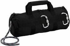 Professional Black Stealth Rappelling Bag - Great For Climbing & Caving or SWAT