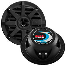"Boss Audio MR52B Boss 5.25"" 2-way Coaxial Marine Speaker 150w Black"