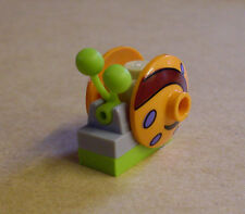 LEGO escargot snail Gary animal animaux Escargots garie orange vert Bob l'éponge NEUF