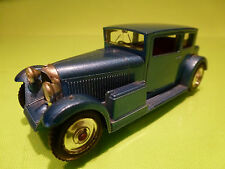SOLIDO 144 VOISIN CARENE 1934 - BLUE 1:43 - RARE SELTEN - GOOD CONDITION