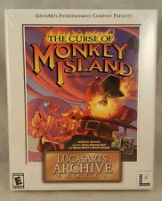 The Curse of Monkey Island LucasArts Archive Series (PC, 2001) BIG BOX NEW