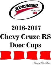 3M Scotchgard Paint Protection Film Clear Bra Pre-Cut 2016 2017 Chevy Cruze RS