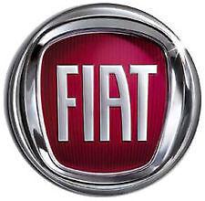 FIAT DUCATO Fregio posteriore stemma portellone logo rosso 120 mm emblem bage