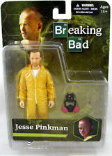 "BREAKING BAD JESSE PINKMAN YELLOW COOK SUIT 6"" FIGURE BRAND NEW MEZCO"