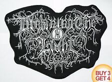 DROWNING THE LIGHT BACK PATCH,BUY3 GET4,SATANIC WARMASTER,VLAD TEPES,MUTIILATION