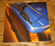 Original 2001 Honda CR-V Deluxe Sales Brochure 01