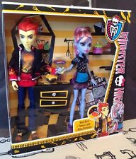 Poupée Monster High - Heath Burns / Thomas Cramé et Abbey Bominable
