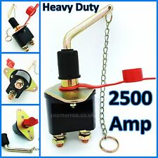 HEAVY DUTY 1000 AMP BATTERY KILL SWITCH SHUT OFF CONTINUOUS ISOLATOR 12 24 VOLT