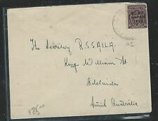 AUSTRALIA (P1806B)  BCOF 3D  COVER TO ADELAIDE