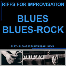 CD basi PLAY A LONG BLUES BLUES ROCk - play along - BACKING TRACK - NEW