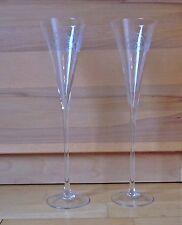 2 hochwerige Champagner Gläser Sektkelche Sektschalen Höhe 30 cm neuwertig!!