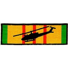 USMC UH-1 Vietnam Ribbon Huey Helicopter Military Patch