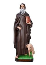 Saint Anthony the Abbot resin statue cm. 40