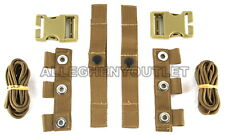 (2) USMC MTV Modular Tactical Vest Scalable PLATE CARRIER STRAP REPAIR KITS NIB
