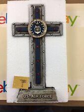 """U.S AIR FORCE WITH EMBLEM FREE STANDING 10"""" X 5.25"""" NEW IN BOX"""