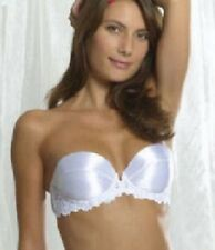 Splendour White Push Up Strapless With Inserts Bra 34A RRP £23
