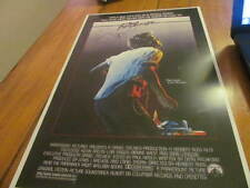 John Lithgow Footloose Signed 11x17 Movie Poster COA