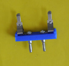 Axial Lead Test Fixture With Pomona Banana Plugs and Grayhill Test Clips  U.S.A