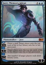 1x Jace, Memory Adept M12 MtG Magic Blue Mythic Rare 1 x1 Card Cards