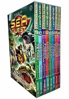 Sea Quest Series 3 and 4 Collection Adam Blade 8 Books Box Set Chakrol, Tetrax