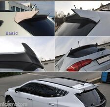 Rear Window Roof Side Wing Type Spoiler For Hyundai Santa Fe Sports 2013 2014