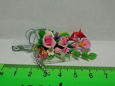 1:12 Scale Bouquet Of Mixed Flowers Dolls House Miniature Accessory