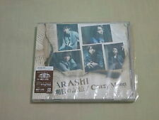 ARASHI JPOP IDOL CD SINGLE Ashita no Kioku CRAZY MOON LIMITED EDITION JAPAN VER