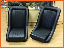 Pair BB1 Classic Style Clubman Bucket Seats MG, FORD, MINI, TRIUMPH etc