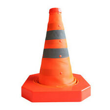 """40CM 16""""Height Portable Collapsible Traffic Multi Purpose Reflective Safety Cone"""